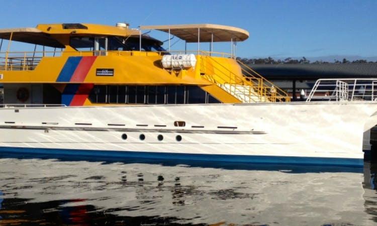 Passenger Night Boat in Fremantle, Western Australia