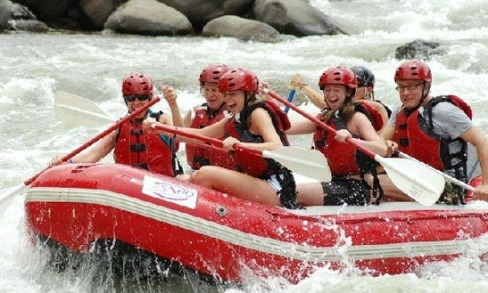 San Jose To La Fortuna River Rafting