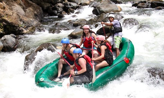 Whitewater Rafting On The Tenorio River