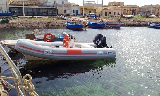 Dive Boat In Noto
