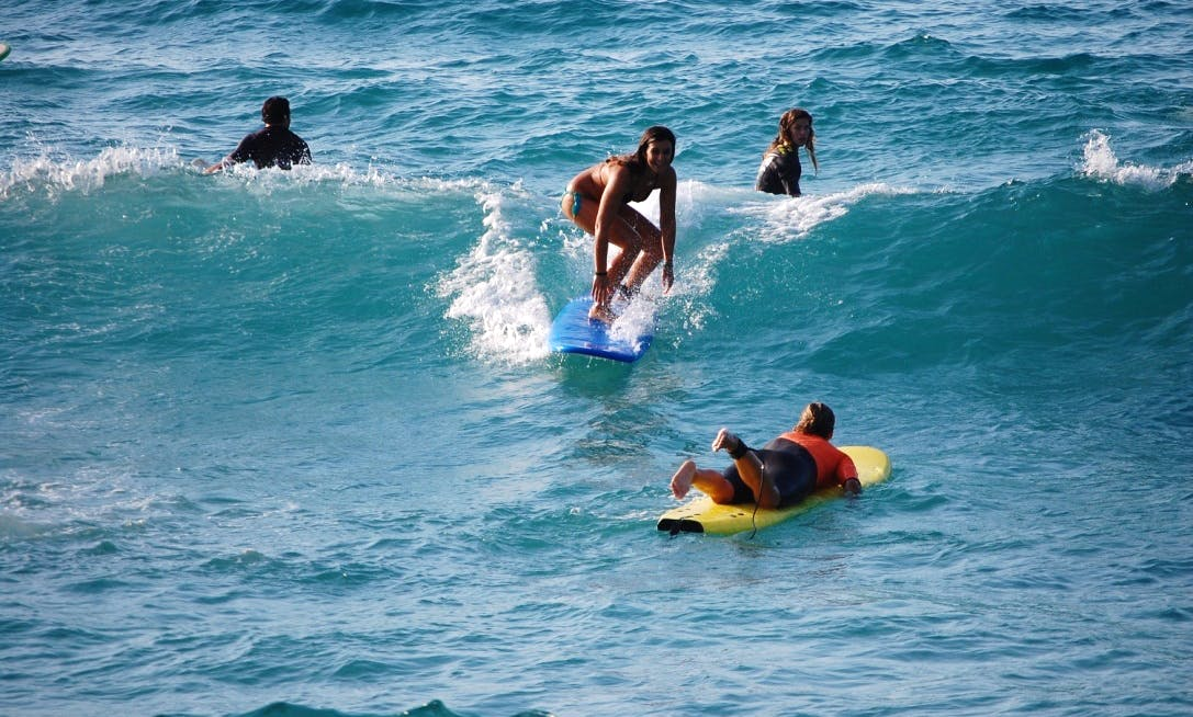 Surfing Lesson and Board Rental in Ikaria Island