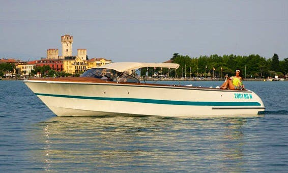 Enjoy Sirmione, Italy On 'Nausicaa' Center Console Boat