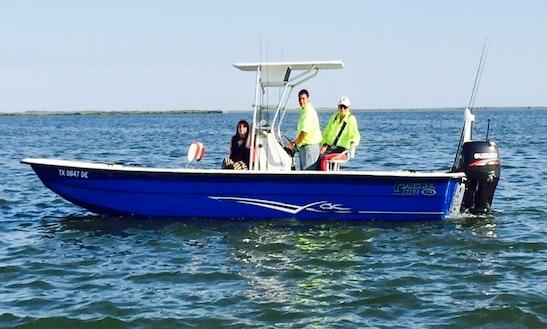 24' Carolina Skiff Redfish Trips In Fulton, Texas