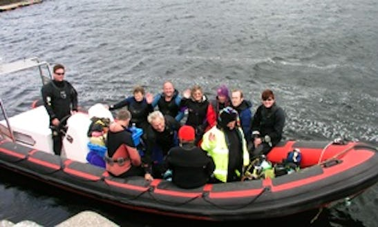 Rib Diving Charter In Co. Kerry, Ireland