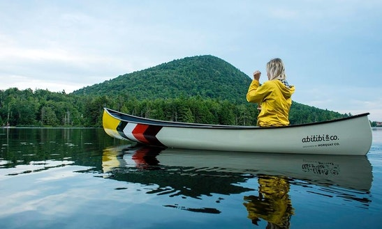 Open Canadian Canoe Rental For 3 Person In Wicklow, Ireland