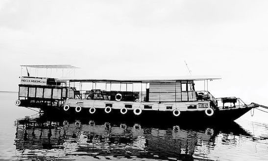 The Sat Toung Boat In Cambodia