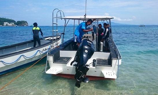 Scuba Driving In Puerto Galera (philippines)(6 Capacity Motor Yatch)