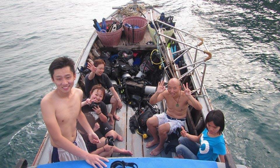 Small Trawler  in Ao Nang Thailand