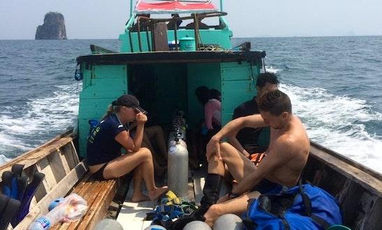 Trawler In Tambon Ao Nang, Thailand