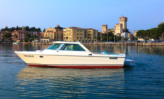 """Charter the 27ft """"Columbus"""" Motor Boat in Sirmione, Italy"""