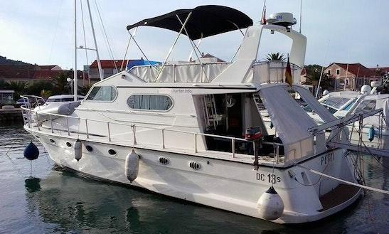 8 Person Dellapasqua-dc Yacht For Charter In Sukošan, Croatia