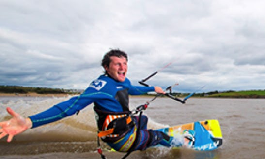 Kitesurfing In Wexford, Ireland
