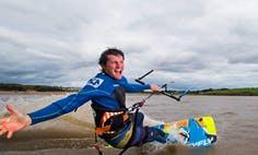 Kitesurfing in Wexford, Ireland