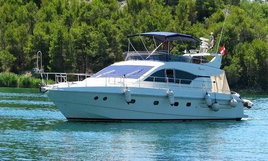 Charter The 9 Person Mochi Craft Power Mega Yacht In Sukošan, Croatia
