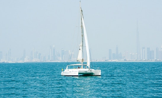 Charter 45ft Voyage 450-dc Sailing Catamaran In Dubai, United Arab Emirates