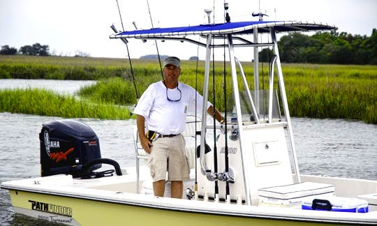 24ft Pathfinder Tournament Boat in Mount Pleasant, South Carolina
