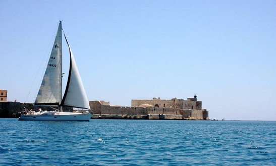 Armonia Sailing In Syracuse, Sicily