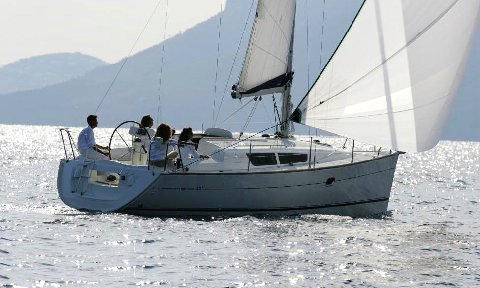 Sun Odyssey 32i Cruising Monohull Charter for 8 Persons in Primošten, Croatia