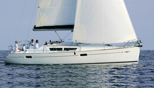 Amazing Sailing Experience In A Sun Odyssey 39i Cruising Monohull Charter In Primošten, Croatia
