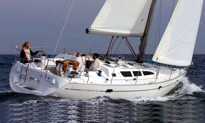 Charter a 2006 Sun Odyssey 40.3 Yacht in Primošten, Croatia