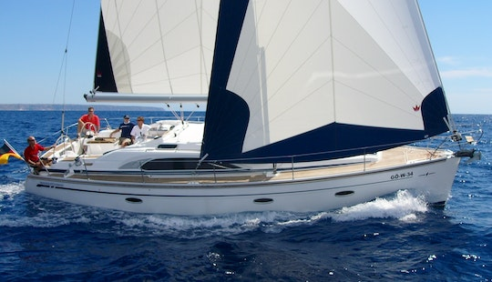 A Bavaria 49 Sailing Charter For 16 Persons In Primošten, Croatia For Your Next Boating Adventure