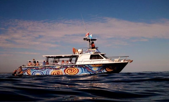 Charter On Passenger Boat From Exmouth, Australia