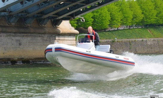 Valiant 500 Sport Rib Charter In La Rochelle