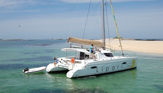 Charter A Lipari 41 Sailing Catamaran For 6 Person In Seychelles