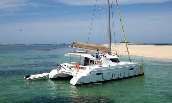 Charter A Lipari 41 Sailing Catamaran For 6 Person In Seychelles