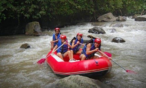 Rafting tour in Selemadeg, Bali  (Indonesia)