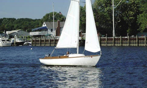 Rent 19' Cape Dory Daysailer-1 In Stonington, Maine