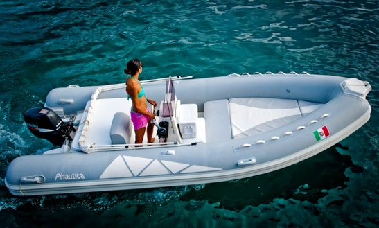Pinautica 5.50 Rib Rental In Ponza