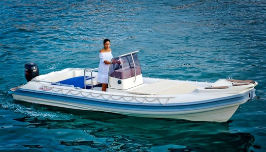 Gommonautica G65 40hp Rib Rental In Ponza