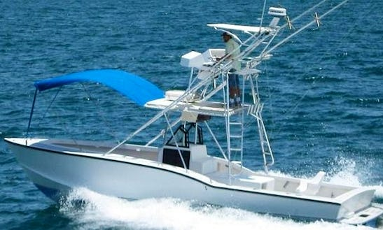 Offshore Fishing Boat In Quepos