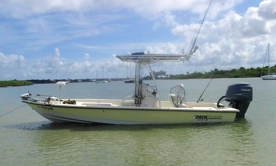 24' Pathfinder Center Console Charter In Ponce Inlet, Florida
