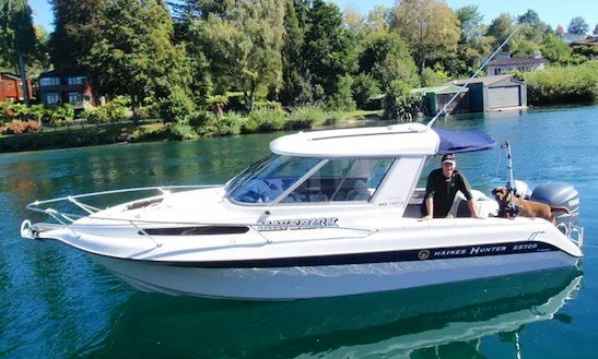 Charter 23' Cuddy Cabin Haines Hunter In Taupo, New Zealand