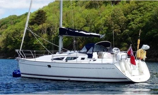 Charter 35' Sun Odyssey Yacht In Pula