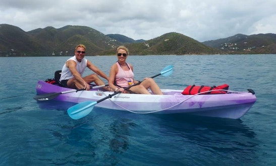 Tandem Kayak Rental In Virgin Islands