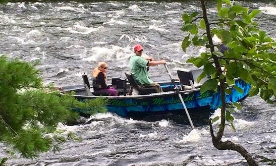 Jon Boat Fishing Charter In Northwest Piscataquis, Maine