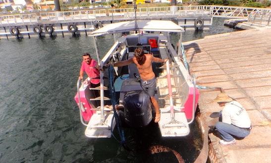 Dive Boat In Bouillante