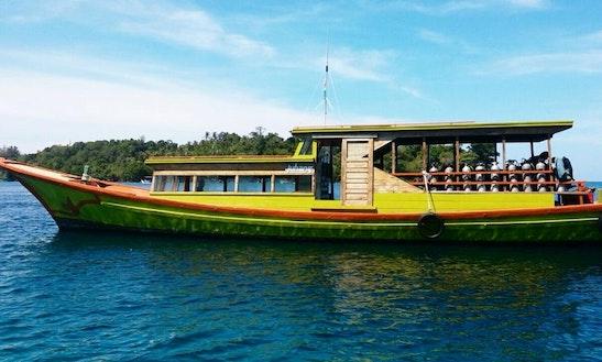 Passenger Boat In Pulau Weh