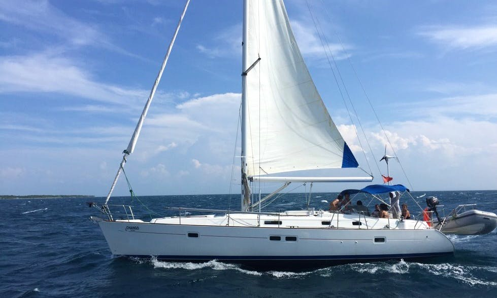 41ft Beneteau Oceanis Cruising Monohull Boat Charter in Cartagena, Bolivar