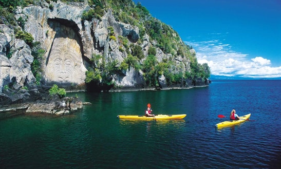 Kayak Hire In Taupo, New Zealand