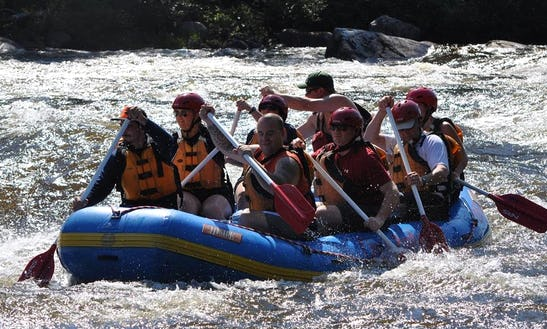 Rafting Trips In West Forks, Maine