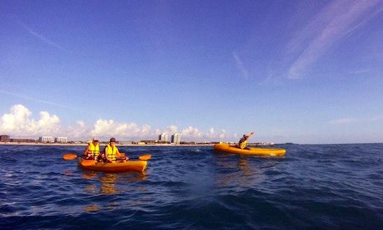 Tandem Ocean Kayak For Rent In Vero Beach, Florida