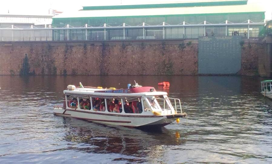 Passenger Boat Trips in Manaus, Brazil
