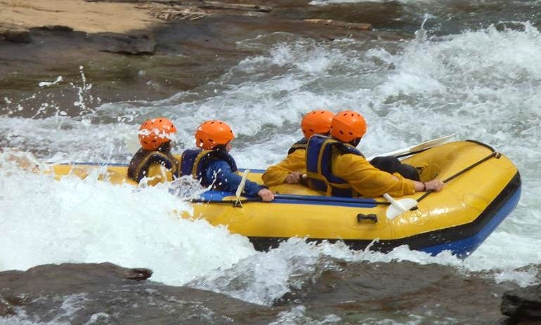 White Water River Rafting In South Africa