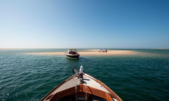 Explore La Teste-de-buch Aboard A 12 Person Motor Yacht!