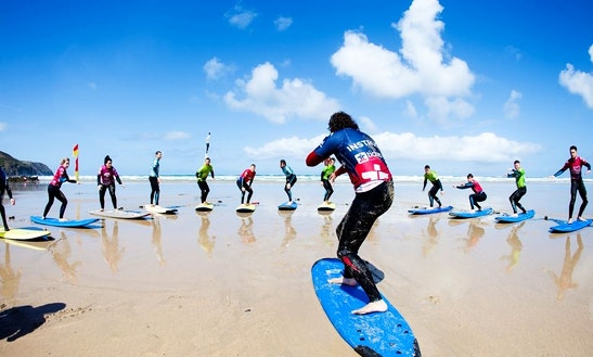 Sup Lesson And Hire In Newquay