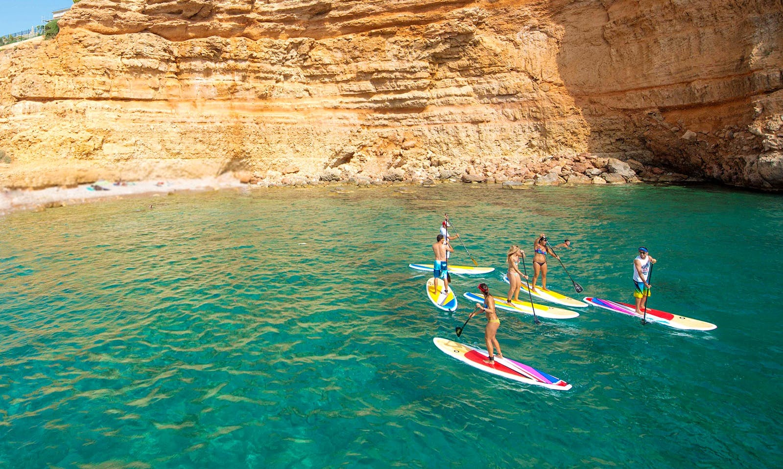 SUP Tour In Mal Pas-Bon Aire, Spain